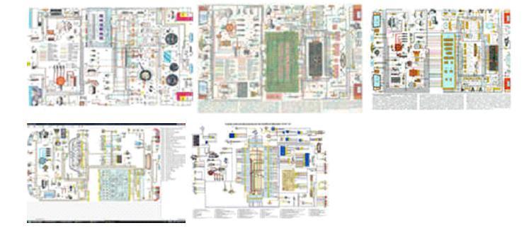 Электросхемы автомобилей